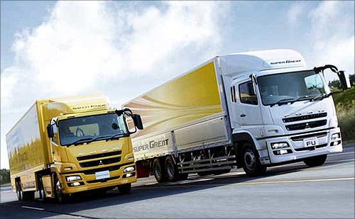 BharatBenz trucks.