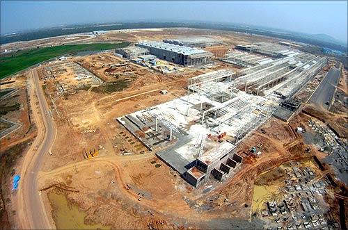 BharatBenz factory near Chennai.