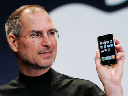 Apple's Steve Jobs.