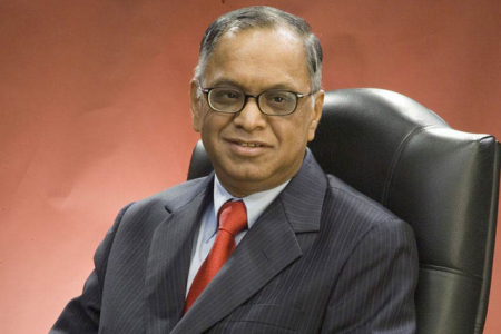 Infosys chairman emeritus N R Narayana Murthy.