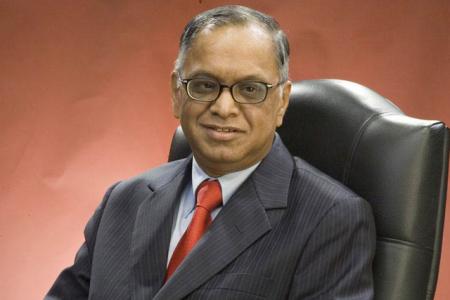 Infosys chairman emeritus N R Narayana Murthy.