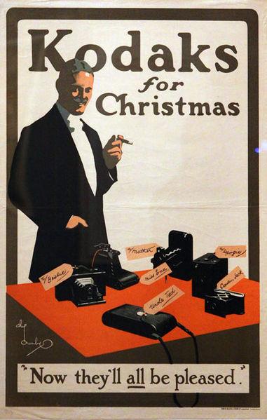 A Kodak poster.