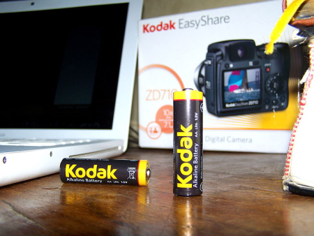 Kodak's batteries.