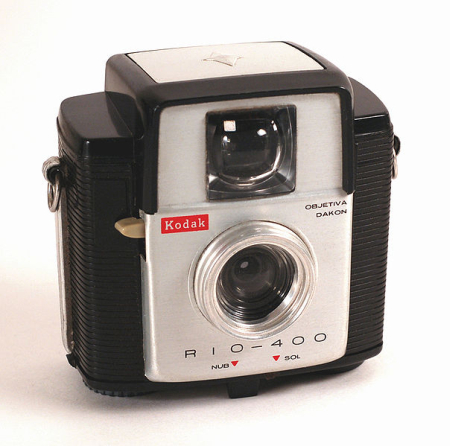 The Kodak Rio-400 was made in Brazil in 1965 to commemorate the 400th anniversary of Rio de Janeiro.