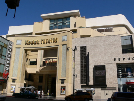 A view of Kodak Theatre in Los Angeles.