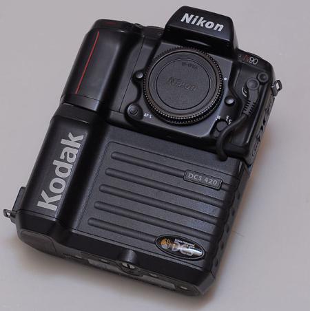 Kodak's DCS 420.