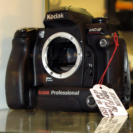 Kodak DCS Pro 14n.