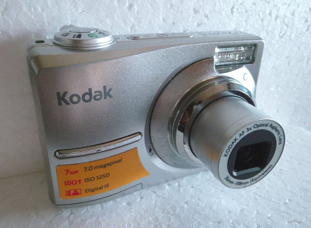 Kodak EasyShare C713 digital camera.
