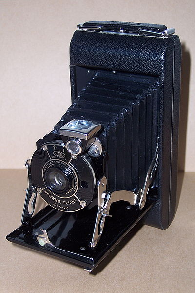 A view of Kodak Brownie.