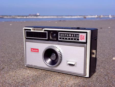 Kodak Instamatic 104.