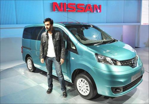 Nissan Evalia MPV.