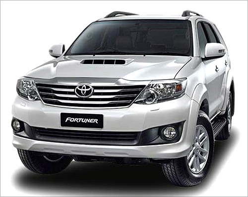 Fortuner facelift.