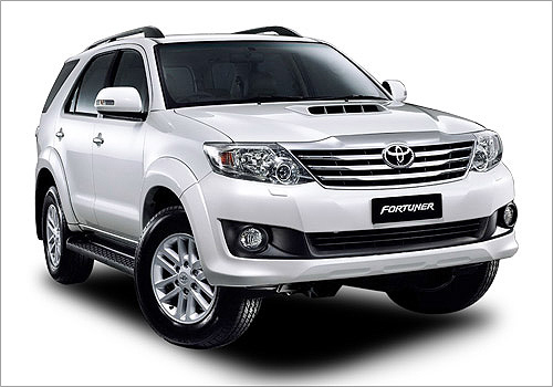 Toyota Fortuner.