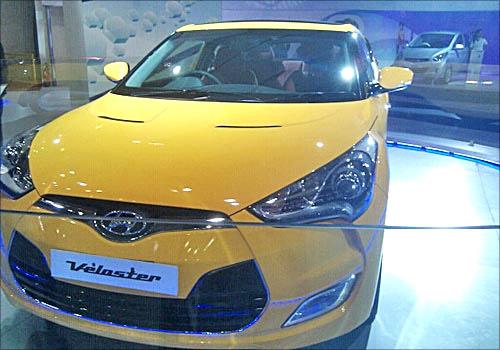 Hyundai Veloster.
