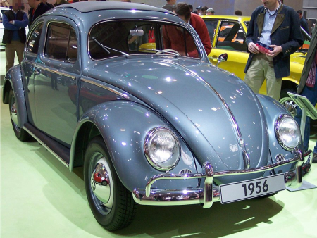 It was a sporting evolution of the Volkswagen Beetle.