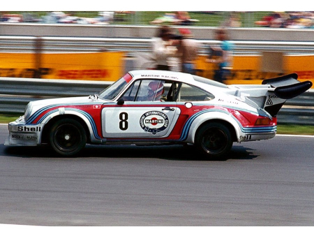 The 1974 RSR variant was a terror on the race track.