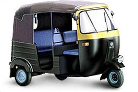 Bajaj Autorickshaw.