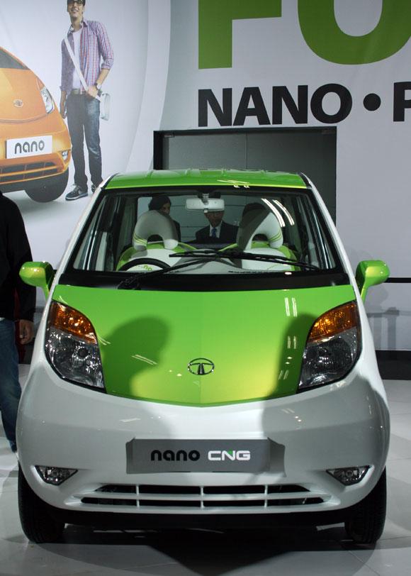 The Tata Nano CNG.