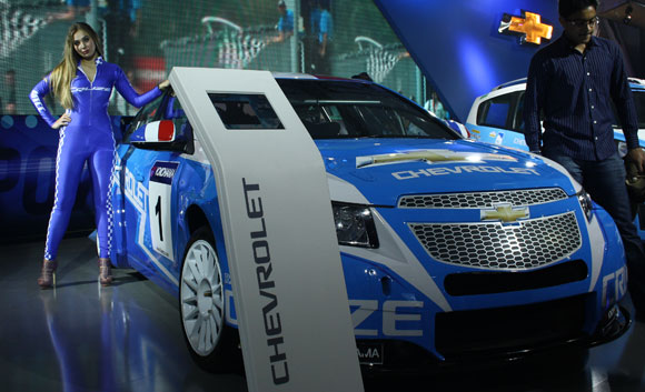 The Chervrolet Cruze.