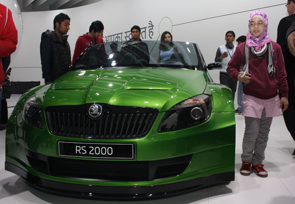 The Skoda RS2000.