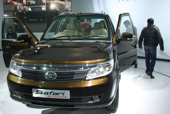 The new Tata Safari.