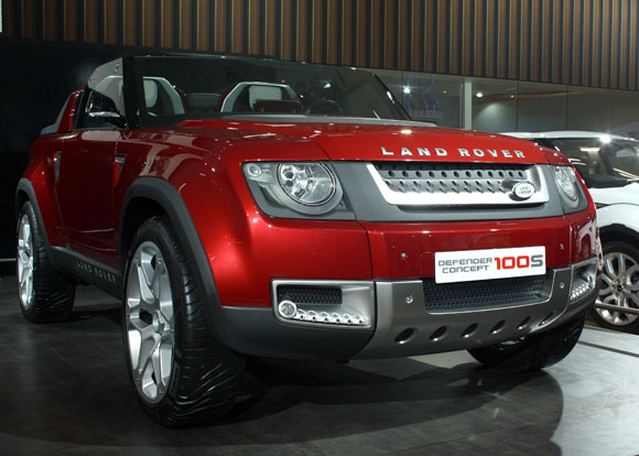 Land Rover, from Tata!