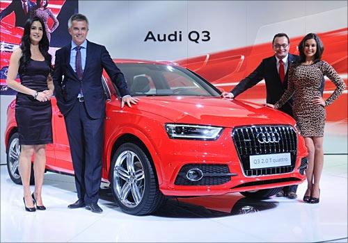 Katrina Kaif unveils the Audi Q3.