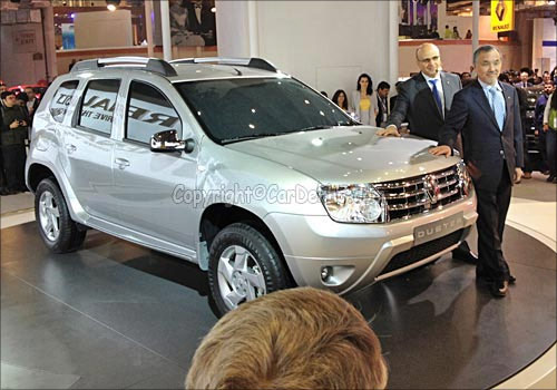 Renault Duster SUV.