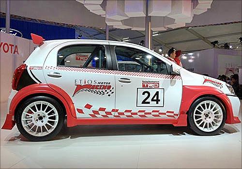 Toyota Etios.