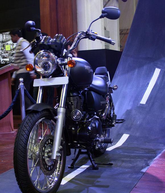 Royal Enfield thunderbird 500cc.