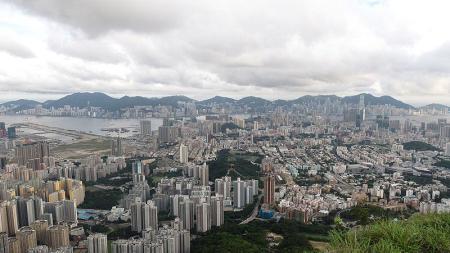 A view of Hong Kong.