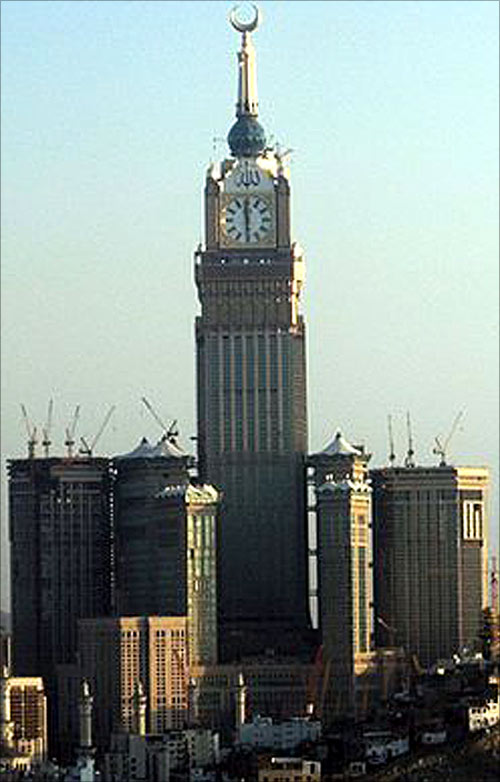 Abraj Al Bait Towers.