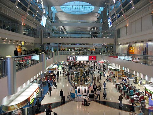 Dubai International Airport Terminal 3.