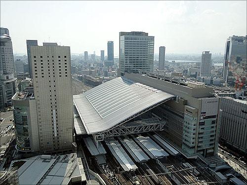 Osaka Station City.