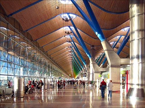 Barajas Airport Terminal 4.