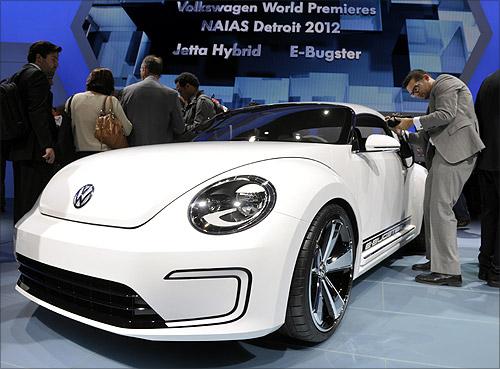 Volkswagen E-Bugster concept car.