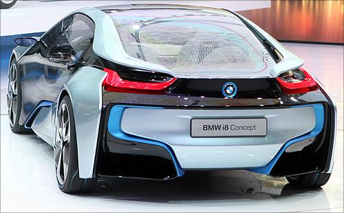 BMW i8 concept car.