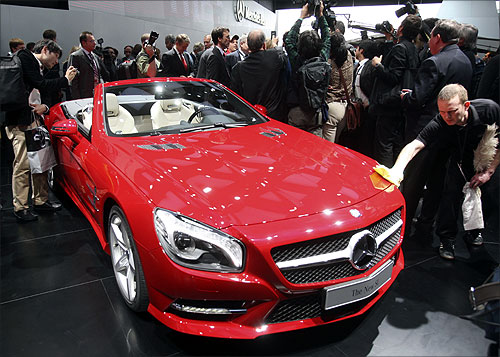 2013 Mercedes Benz SL.