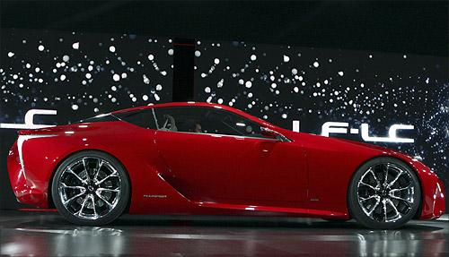 Lexus LF-LC concept car.