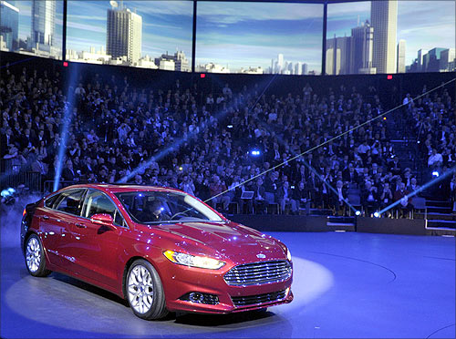 2013 Ford Fusion,