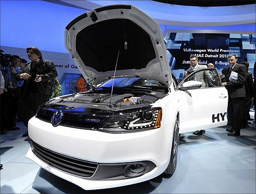 Volkswagen Jetta Hybrid.