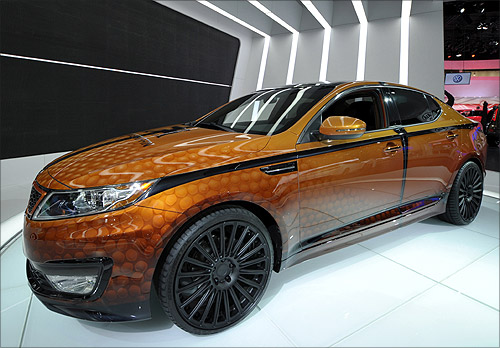 Kia Optima Hybrid.