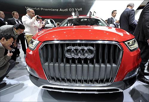 Audi Q3 Vail.