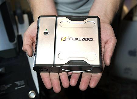 Sherpa 50 battery by Goal Zero.