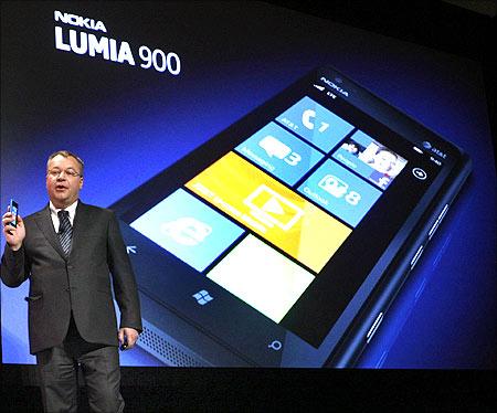 Nokia Lumia 900.