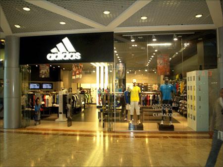 Adidas store.