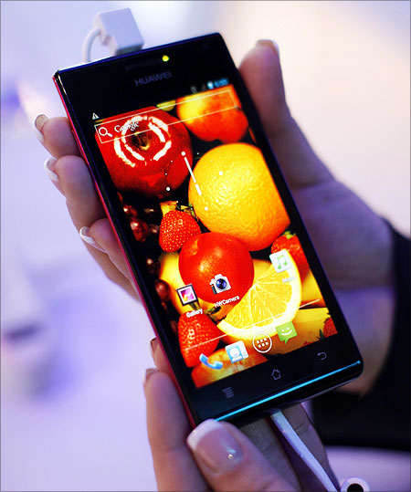 Huawei Ascend P1 S.