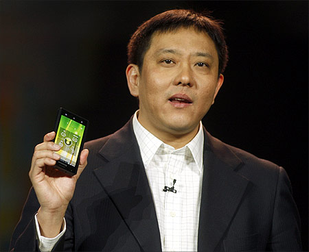 Liu Jun, Lenovo senior vice president and president of Mobile Internet and Digital Home.