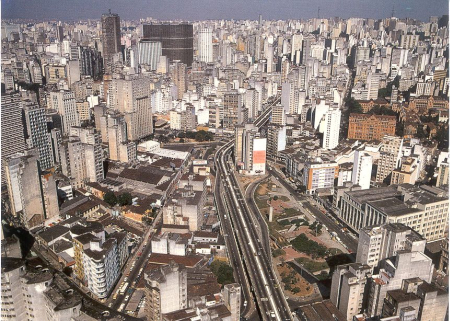 Sao Paulo is the largest city in Brazil.
