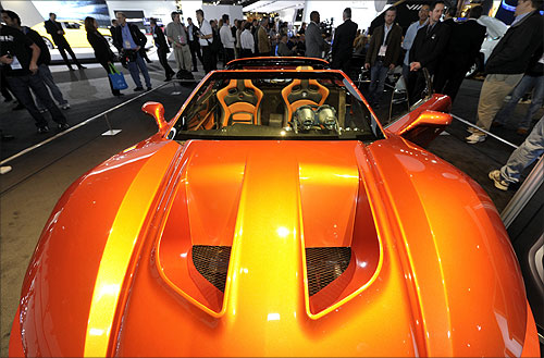 A view of the $225,000 Falcon F7